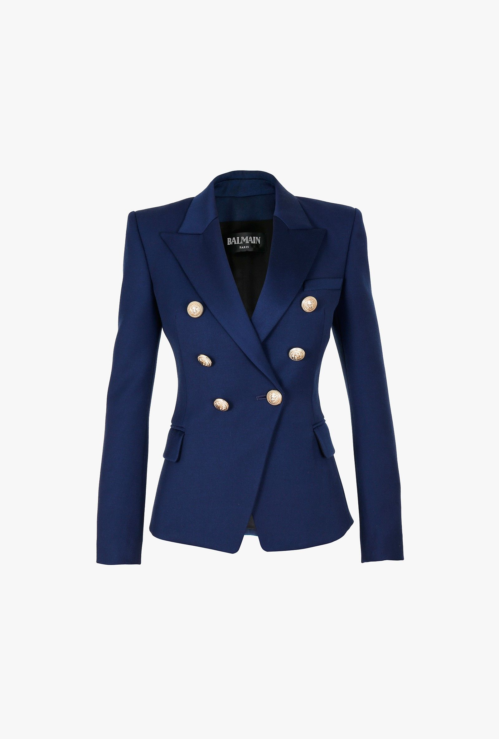 Blazers Analytical Notched Wear Female Suits Blazer Casual Slim Long Sleeve Single Button Blazers White Blue Work Formal Jackets Blazer Feminino