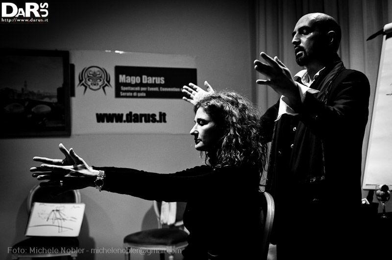 Spettacolo di mentalismo  http://www.darus.it