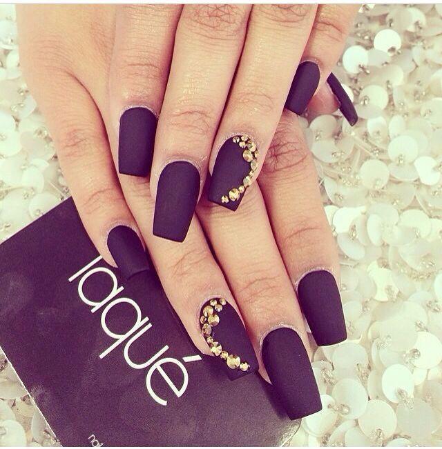 coffin shaped matte nails love them | nail art | Pinterest | Matte ...