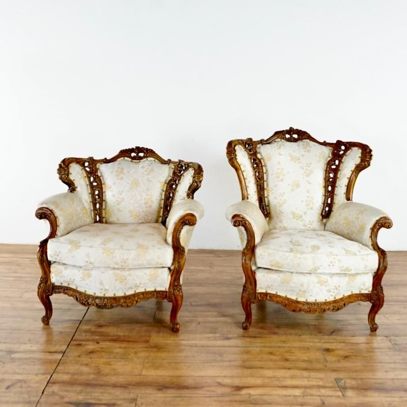 Chateau Chambord Versailles Collection Armchairs ...