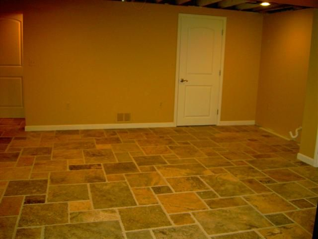 Tile Basement Floor basement flooring ideas tile Classy Basement Flooring Design On Basement With Basement Floor Ideas Gallery