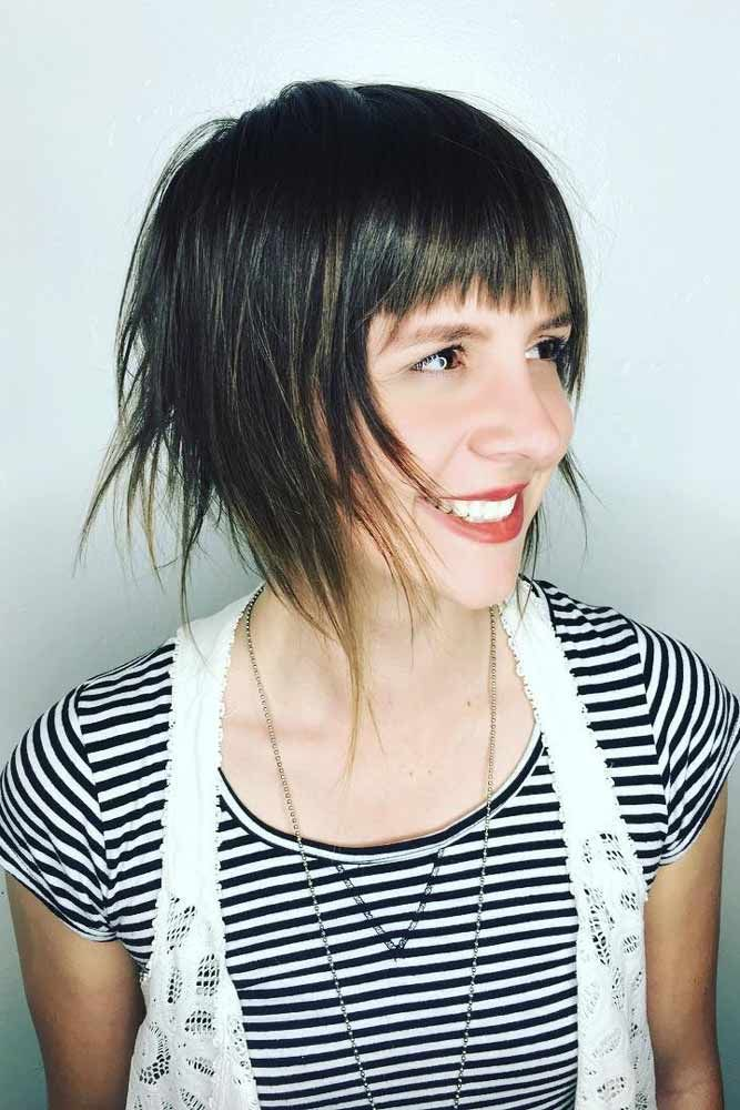 24 short hairstyles with bangs for glam girls  cute