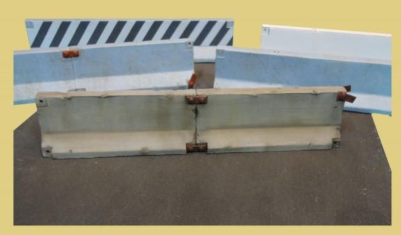 Concrete Jersey Barriers Ho Scale By Scientific Jersey Barrier Ho Scale Concrete