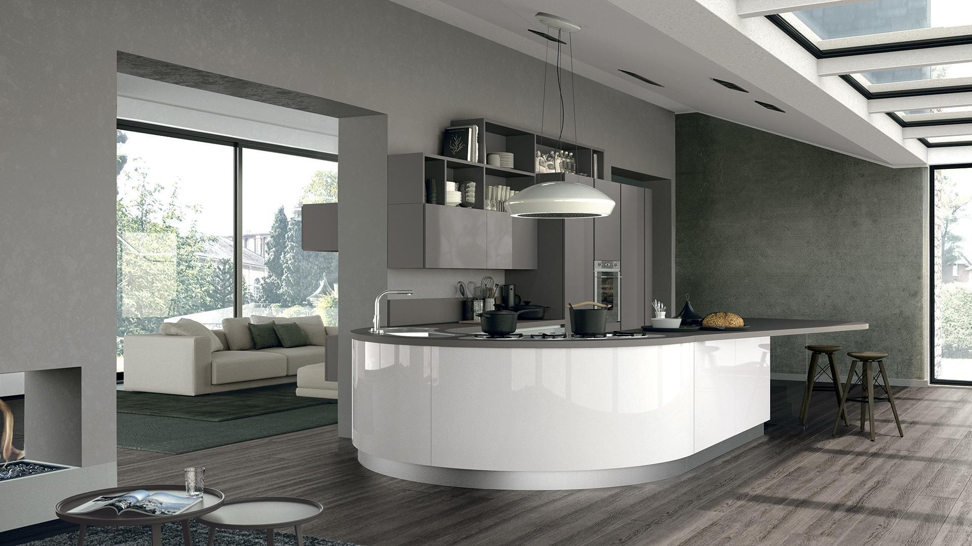 Cucina Lube Moderna.Clover Cucina Lube Moderna Home Ideas Peninsula