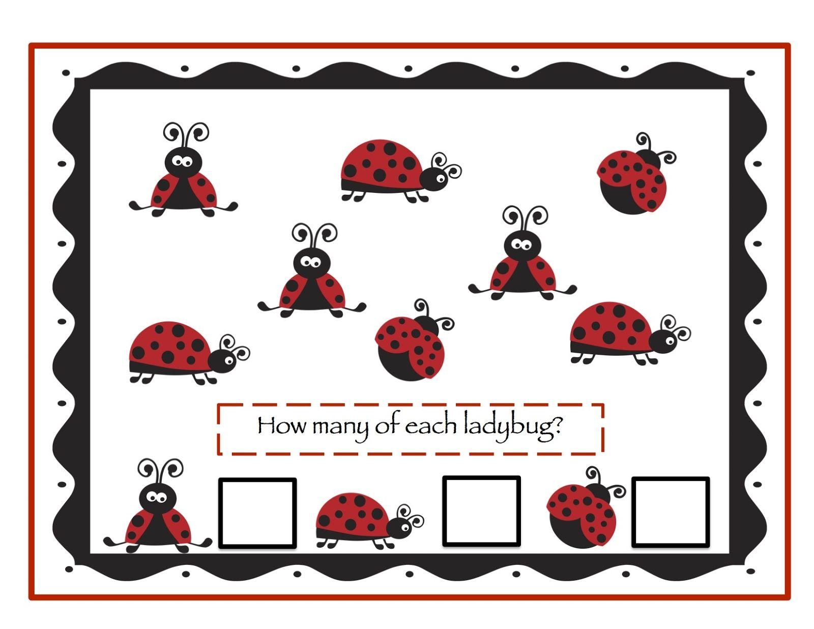 Preschool Printables Ladybug Printable