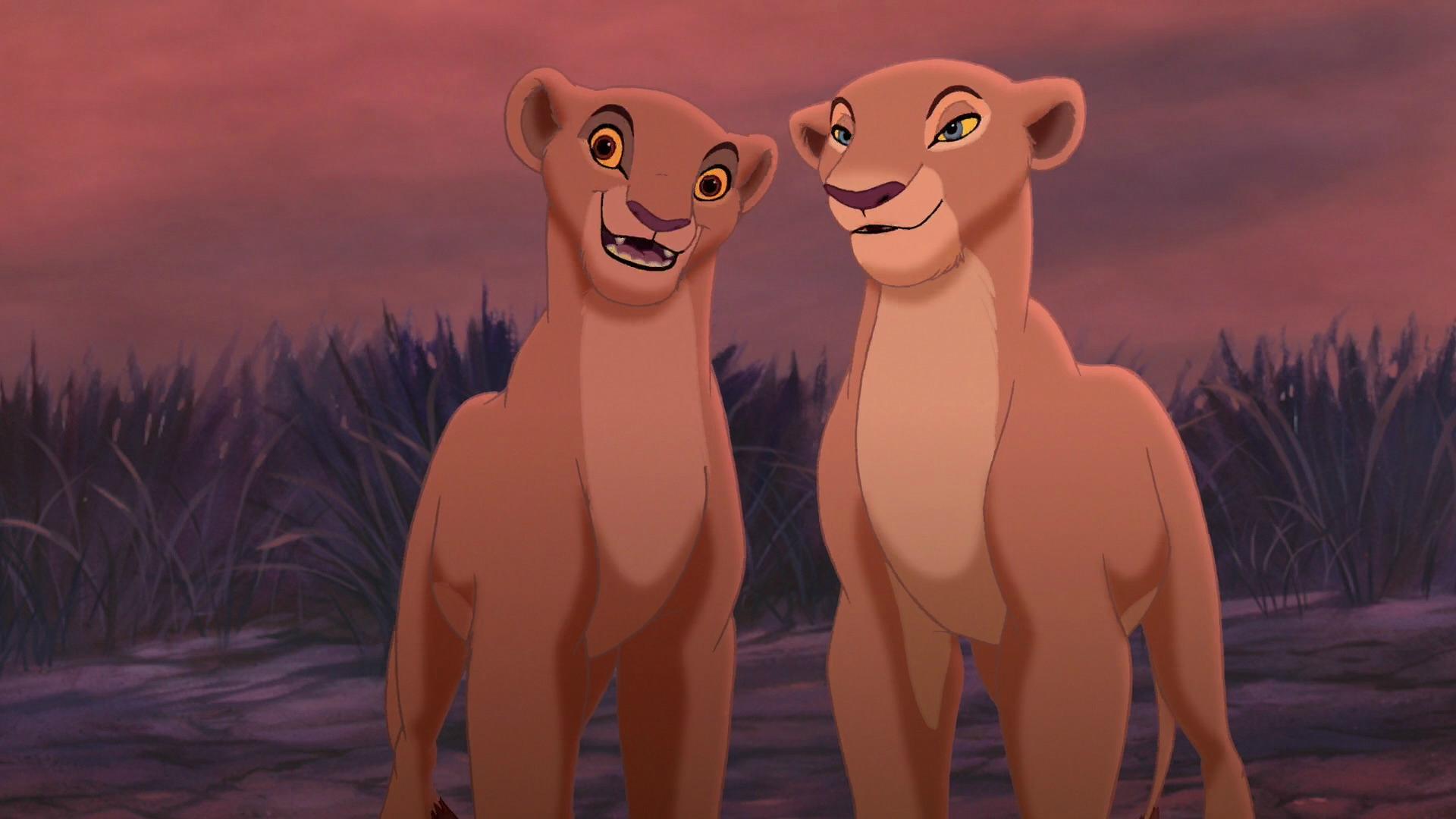 Simba cheats on nala with vitani