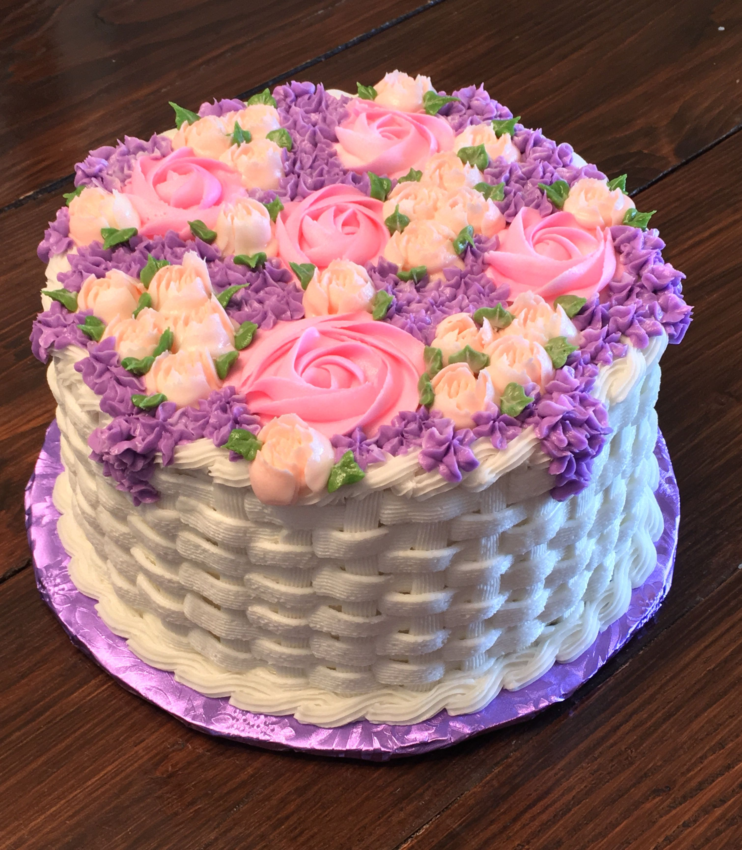 Flower Basket Cake Cake Decorating Cake Decorating Amazing Cake