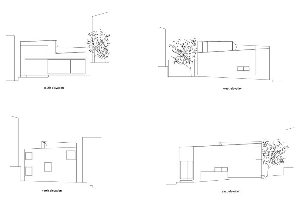 Glass House Philip Johnson Plan philip johnson glass house plan section and elevation escortsea