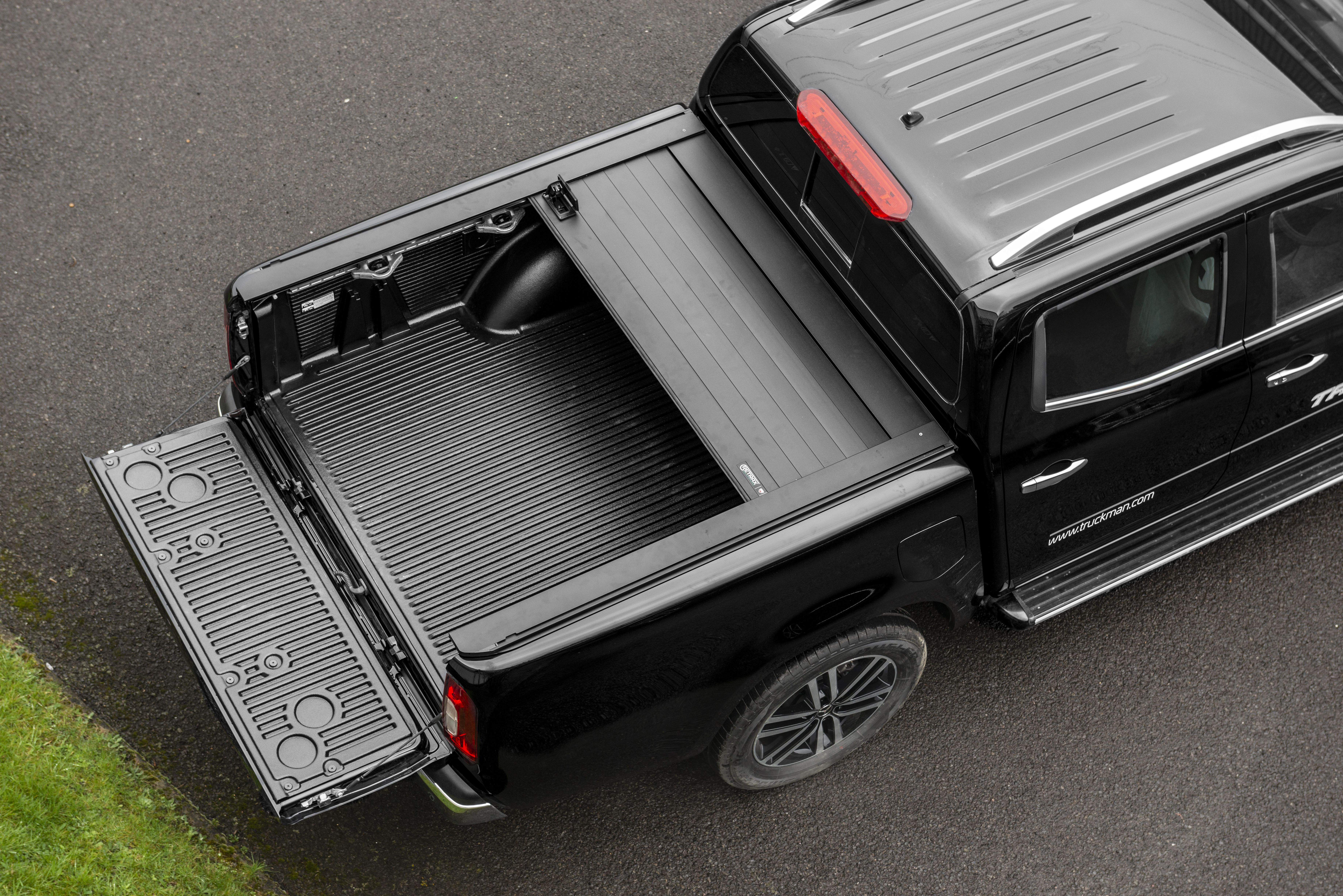 The Truckman Retrax Retractable Tonneau Cover Is Constructed From
