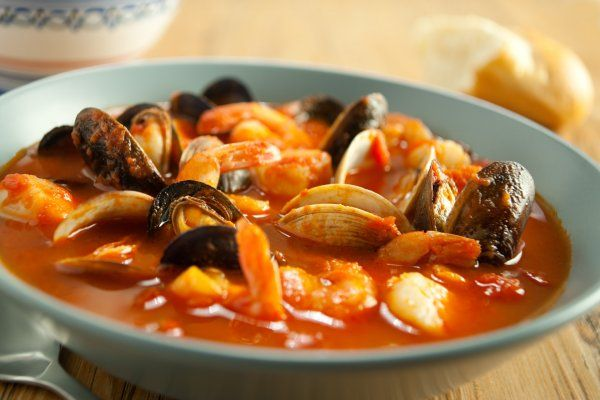 This classic seafood stew is hearty and delicious and is very simple to make. Be certain to serve with some crusty bread to soak up any leftover aromatic broth. You wouldn't want to leave a drop.