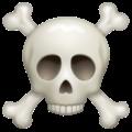 Skull And Crossbones Emoji Skull Skull And Crossbones Crossbones