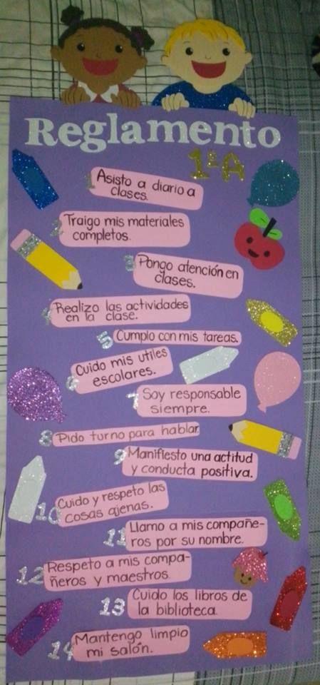 Reglamento de sal n de clases foamy foami creatives for 10 reglas del salon de clases en ingles