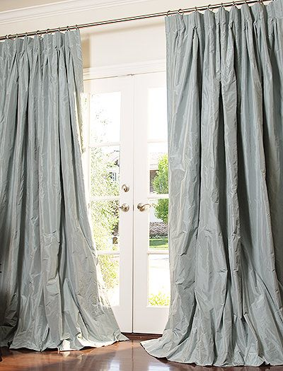 100 Handmade To Order In The Usa Any Width Length Or Pleat Style Heavy Weight 100 Silk