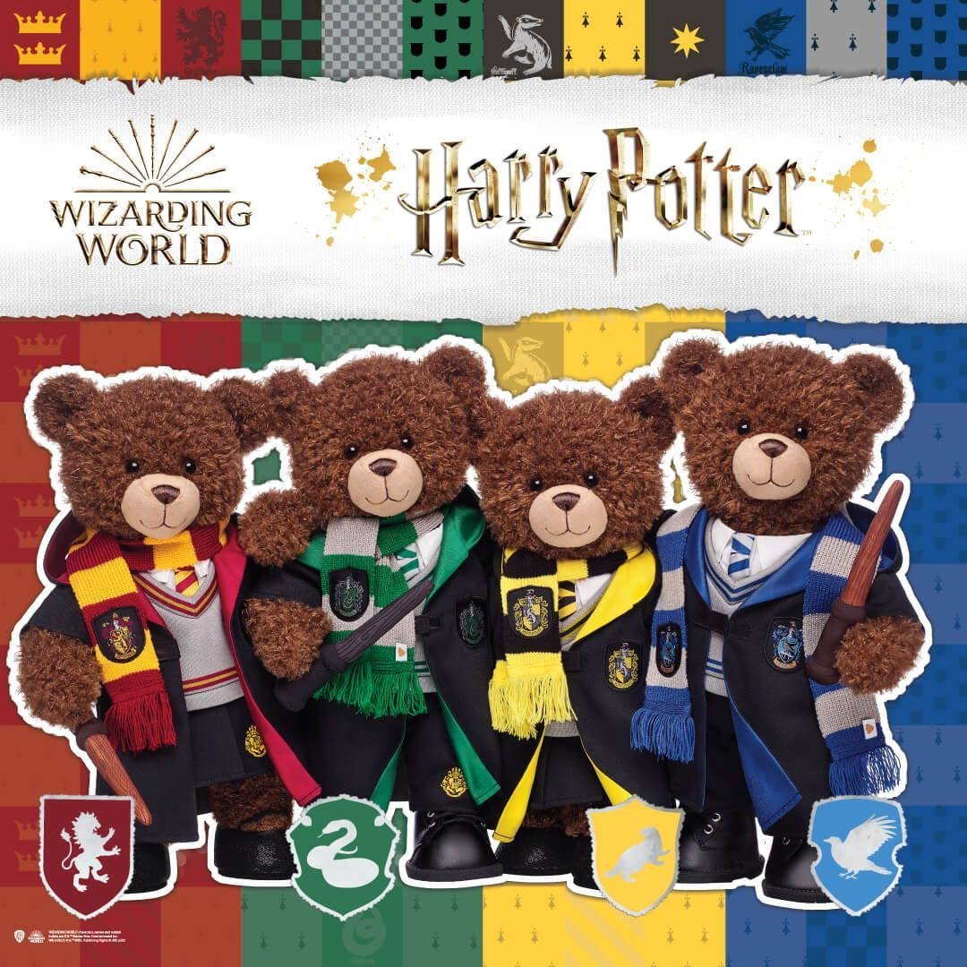 Harry Potter Christmas Marathon 2020 New ' Harry Potter' Collection Arrives at Build a Bear!   Inside