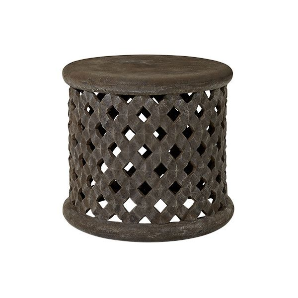 Naples Outdoor End Table | Arhaus Furniture (u20ac355) ❤ Liked On Polyvore  Featuring