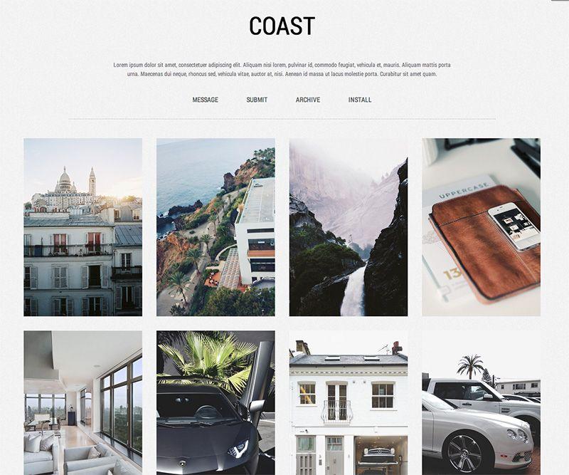 Coast - Free Minimal Tumblr Theme - #tumblr #theme #template - free work order form