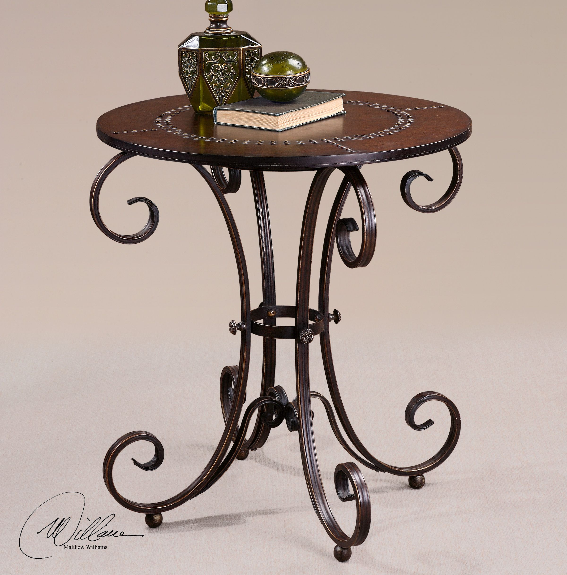 Lyra Round Accent Table Accent Table Round Accent Table Furniture [ 2432 x 2400 Pixel ]
