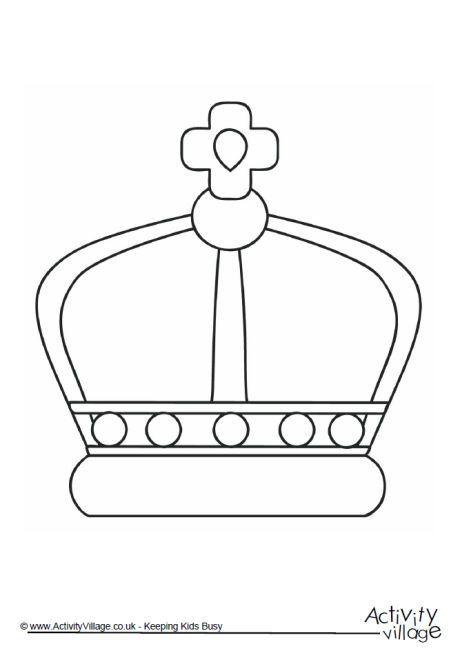 Crown colouring page 2 | All Things Royal | Pinterest | Crown, 90 ...
