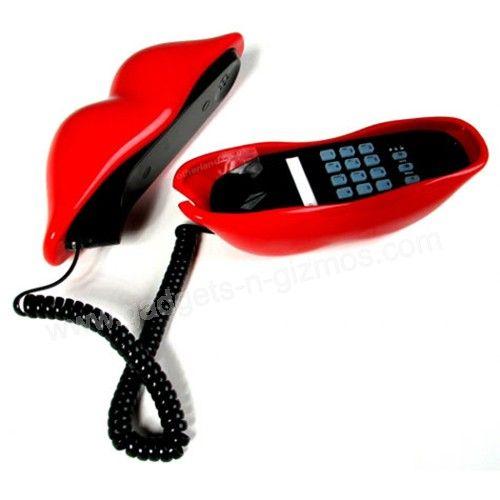 Corded Phone Marilyn Monroe Red Lips Shape Telephone 19 99