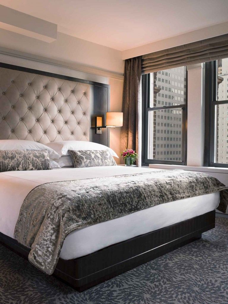 Boutique Hotel New York Hotel Style Bedroom Living Room Blinds