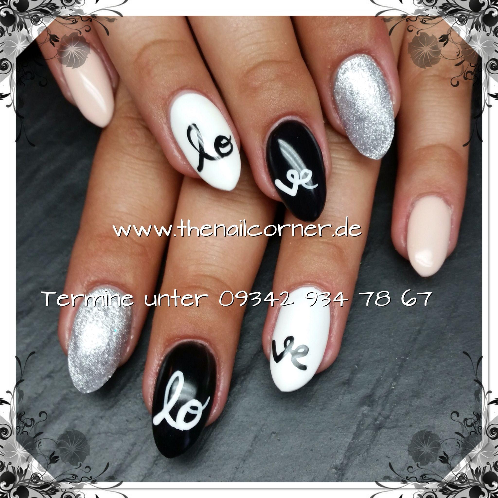 Love   #nails #love #nailart #gelpolish