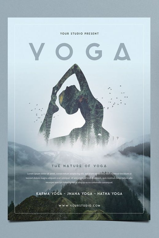 Yoga Flyer Template Psd  Yoga Yoga Yoga    Flyer