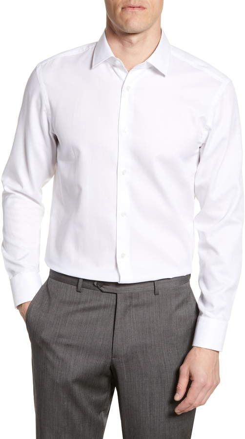 ef3c2f9cc5d Men's Big & Tall Boss Marley Sharp Fit Dress Shirt, Size 16.5XL ...