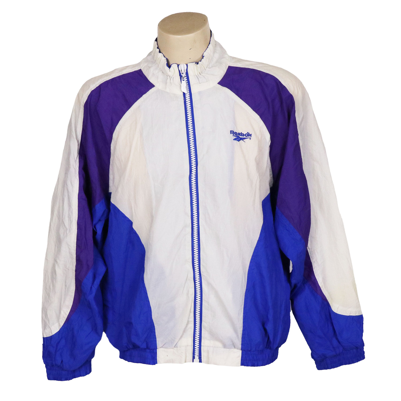 Vintage 90s Reebok Color Block Windbreaker Jacket Windbreaker Jacket Windbreaker Windbreaker Outfit [ 3000 x 3000 Pixel ]