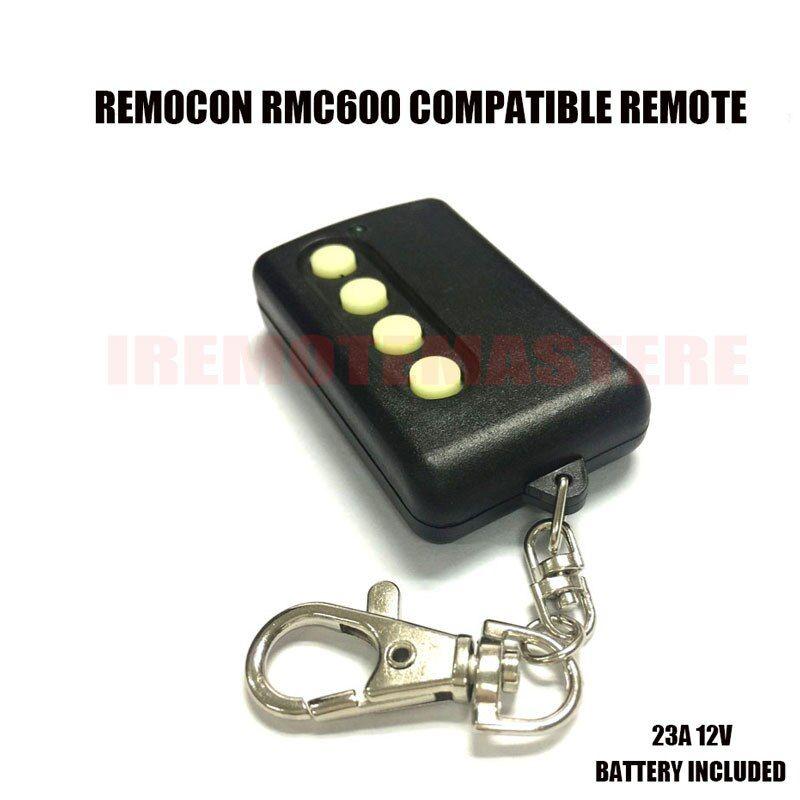 Remocon Rmc 600 Garage Door Remote Remocon Transmitter