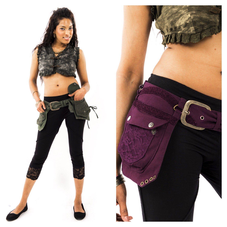 STEAMPUNK utility belt, fanny pack, junk Gypsy, Pocket BELT, hip ...
