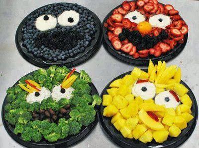 comidas saladas para cumpleaos infantiles buscar con google