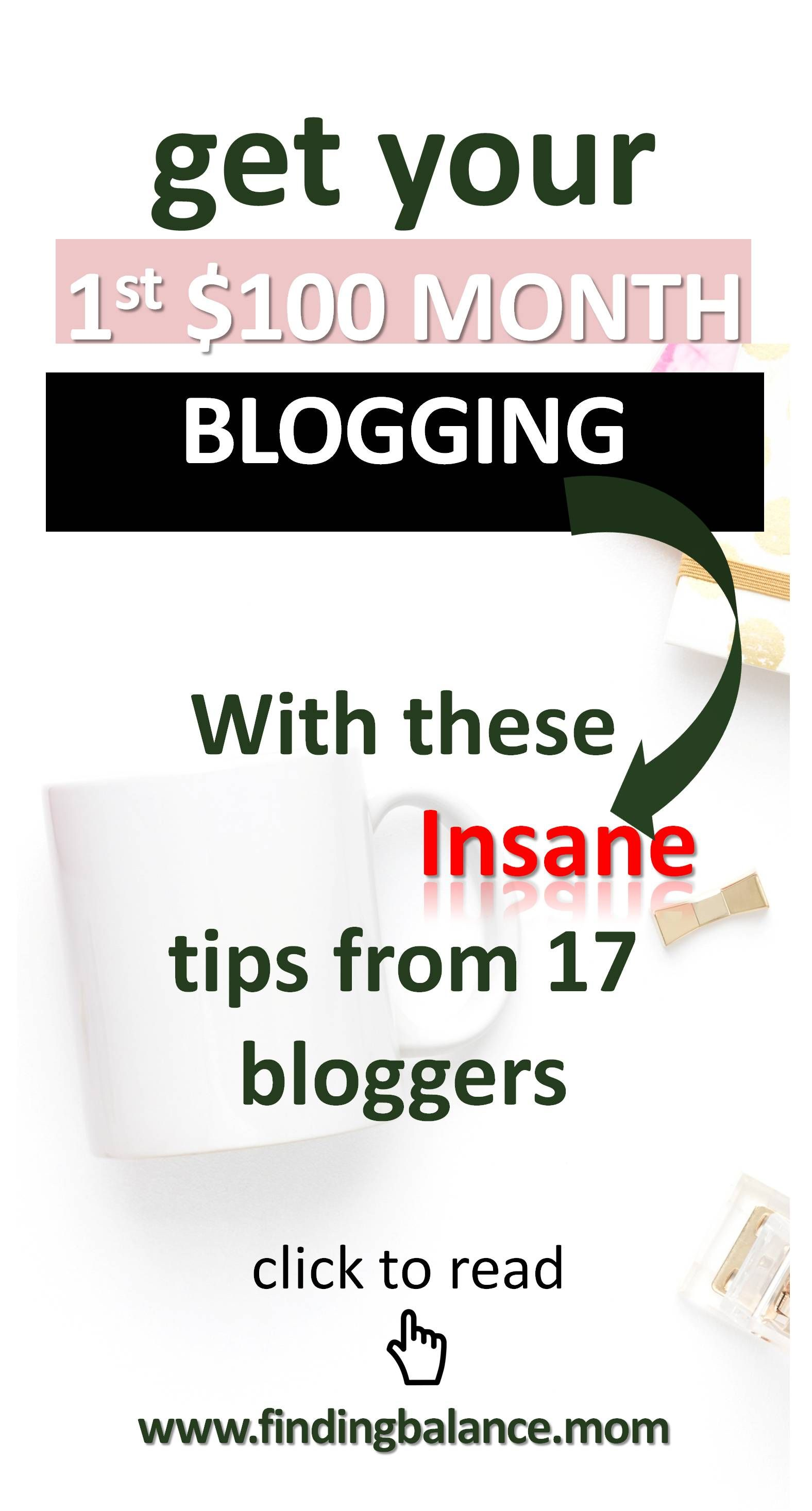 How To Make Money Blogging For Beginners 17 Bloggers' 1st
