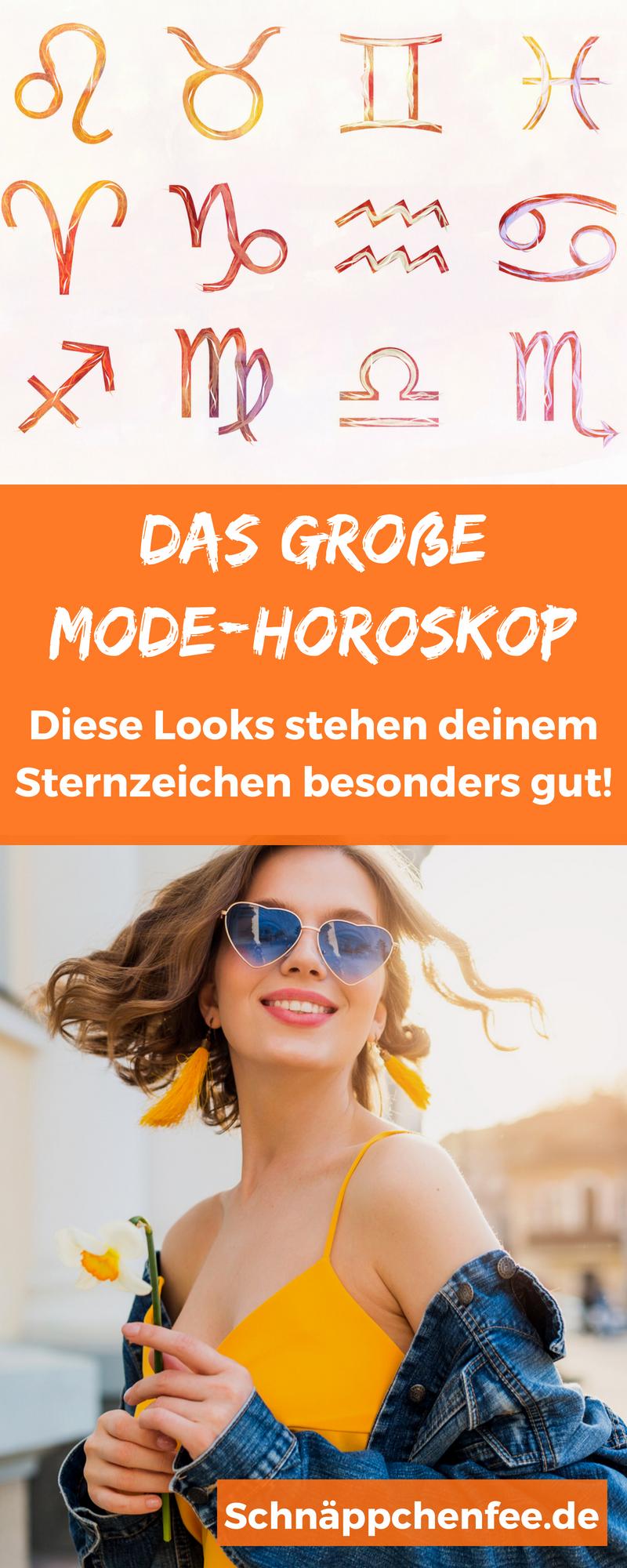 Mode Horoskop: Welcher Look passt zu eurem Sternzeichen