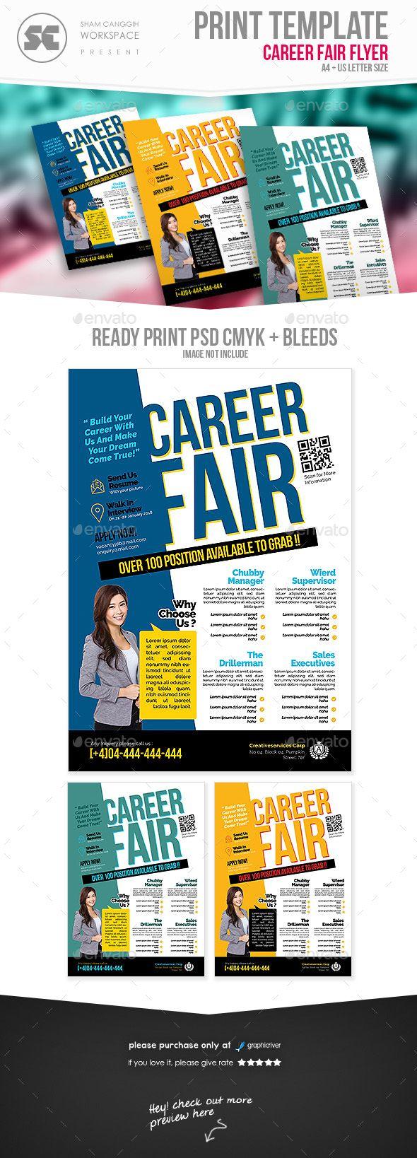 Career Fair Flyer | Vistas