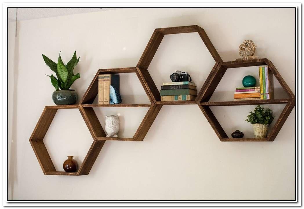 3x Round End Wall Corner Floating Shelf Wall Mounted Rack Bookshelf Display