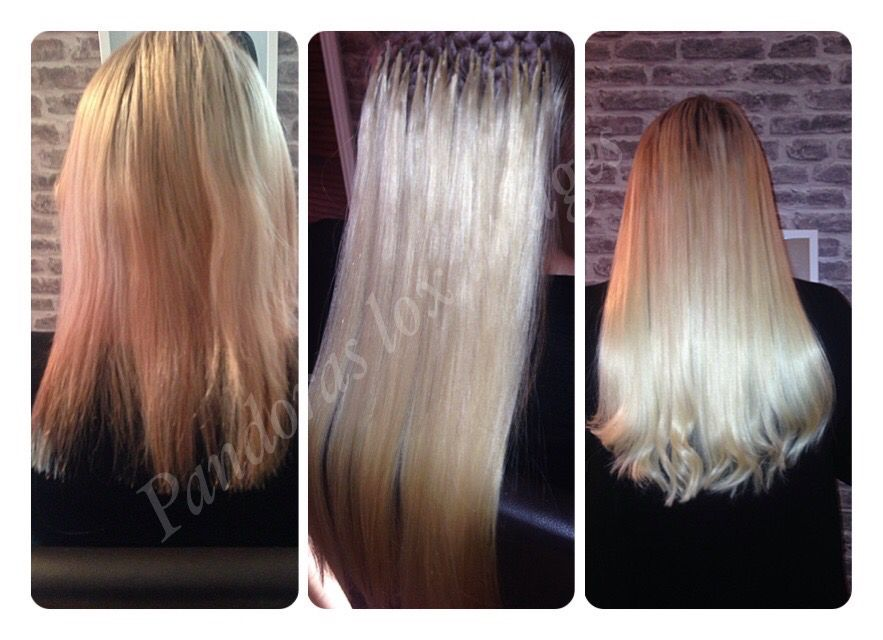 Full Head Of 150 Bonds Of 1g Brazilian Double Drawn Hair Extensions