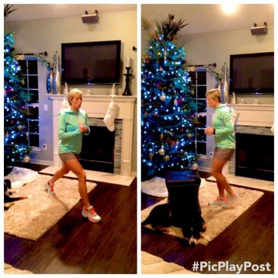 Keep killin' those legs! 45 seconds of jumping lunge pulses 15 step up lunges on each leg Shoot for...