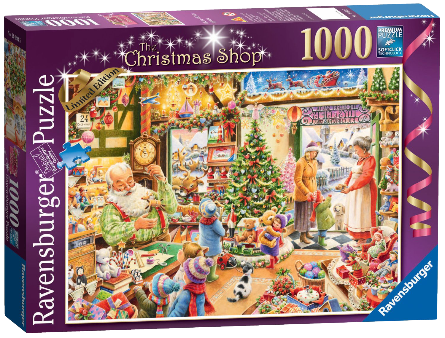 Ravensburger Limited Edition Christmas Puzzles | jigsaw