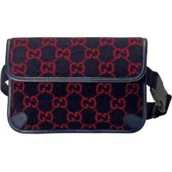 Photo of Belt bag made of wool with Gg motif Gucci