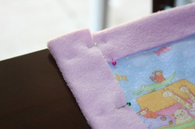 Lyndi's Projects: One Hour Baby Blanket