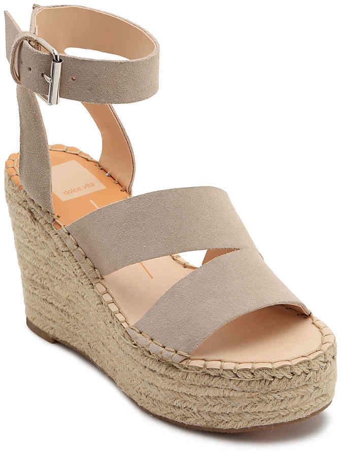 510f87b13be Women Shayla Espadrille Wedge Sandal -Sage Green Suede in 2019 ...