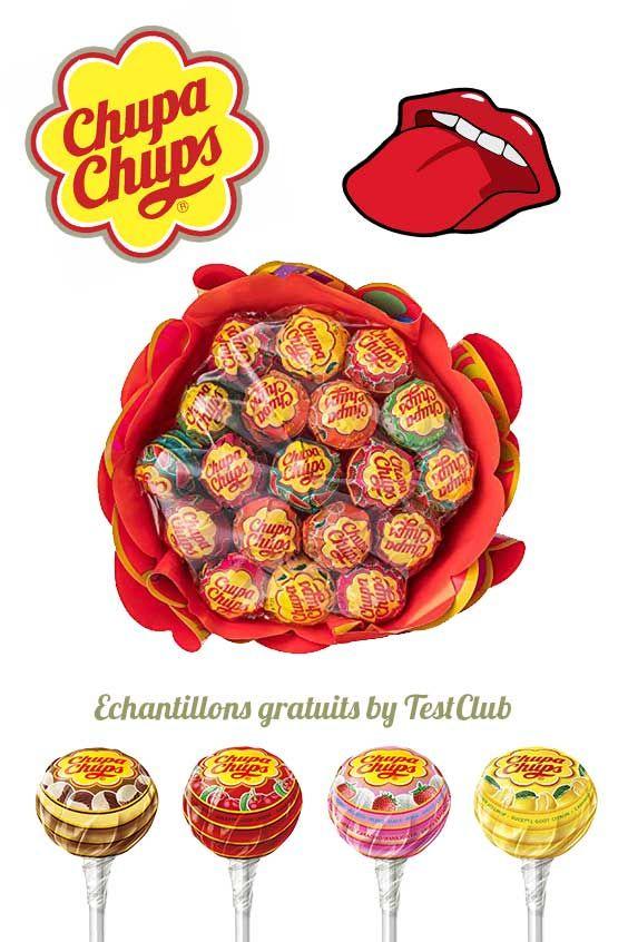 Nous vous offrons des sucettes Chupa Chups ...