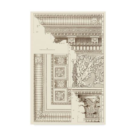 Trademark Fine Art 'Corinthian Detail VI' Canvas Art by Vision Studio - Walmart.com