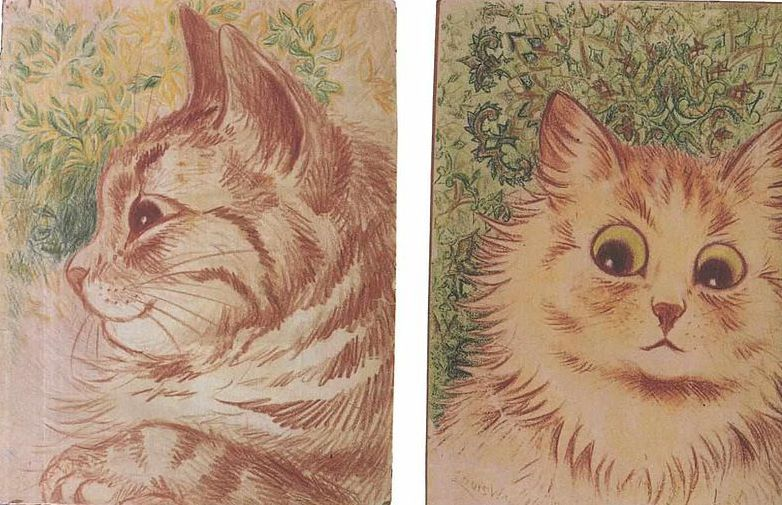 Do Louis Wain's Cat Pictures Show a Mind Unraveling? Cat