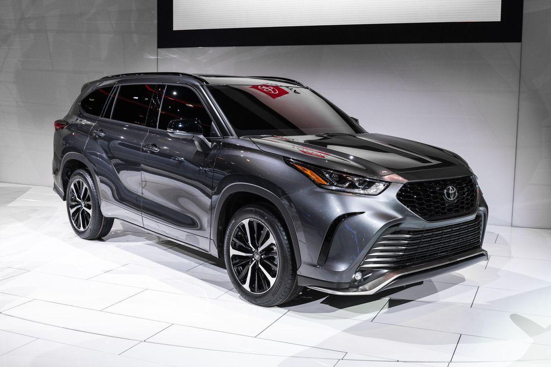 Toyota Kluger New 2021 Exterior In 2020 Toyota Highlander