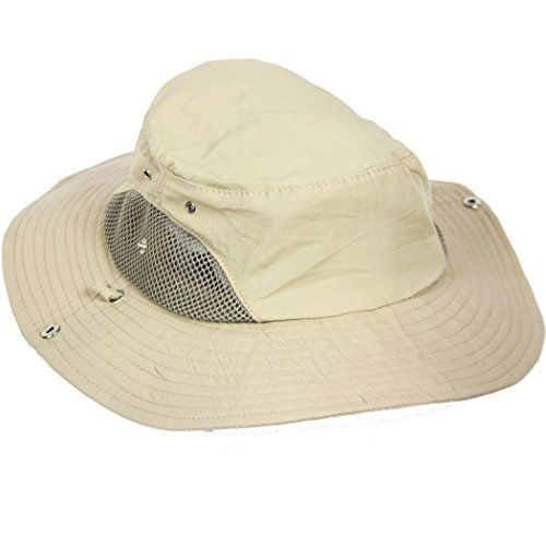 6d1437c906b We Love the Outdoors Boonie Hat Perfect for Sun Hiking Fishing or Beach  High UPF Protection Wide Visor Ideal for Summer Mesh Panels Keep Head Cool  Stretch ...