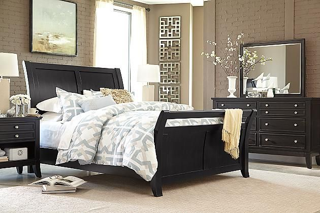 Almost Black Marinday Dresser And Mirror View 2 Ashley Furniture Ashley Furniture Homestore Furniture