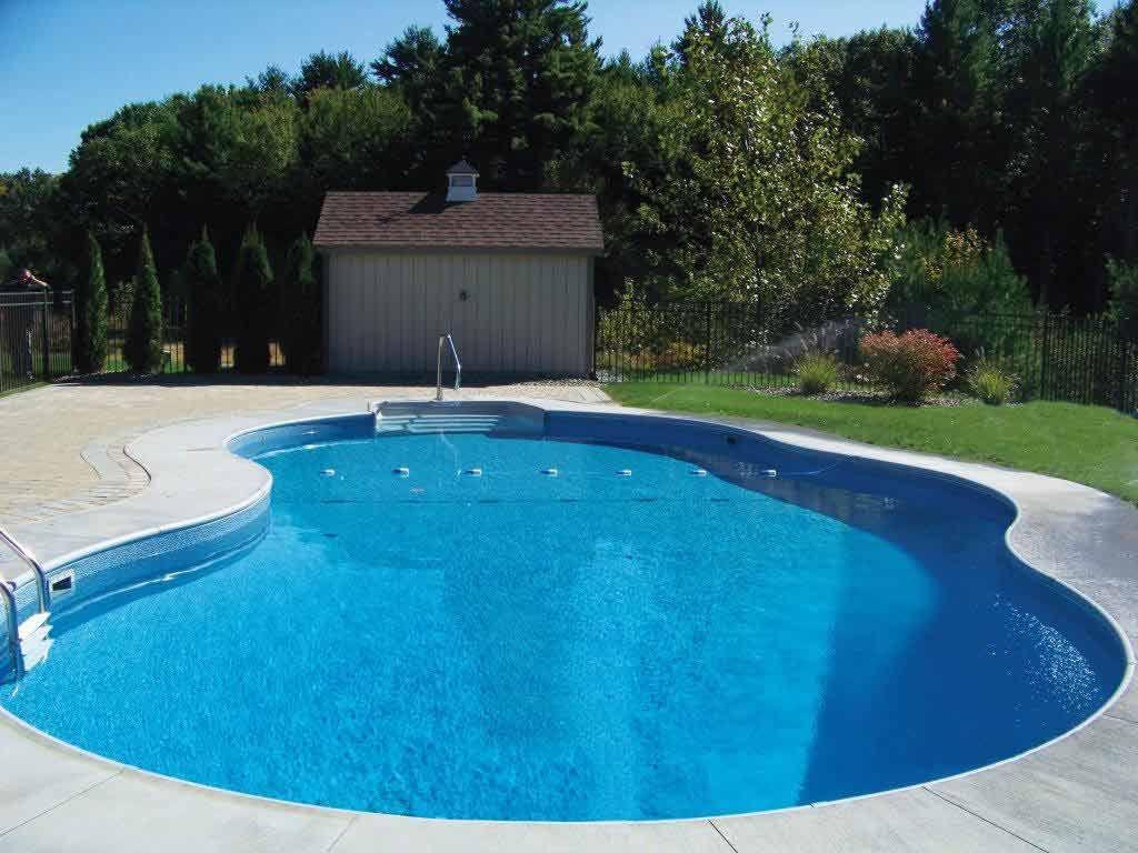 Swimming Pools Backyard Inground Simple