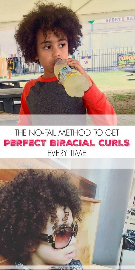 The No-Fail Method For Perfect Biracial Curls
