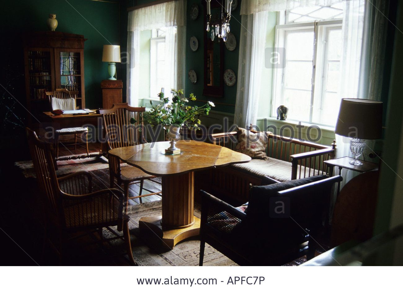 Karen Blixen House Museum in RUNGSTED Denmark Stock Photo